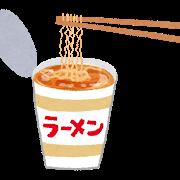 カップ麺ラーメンイラスト