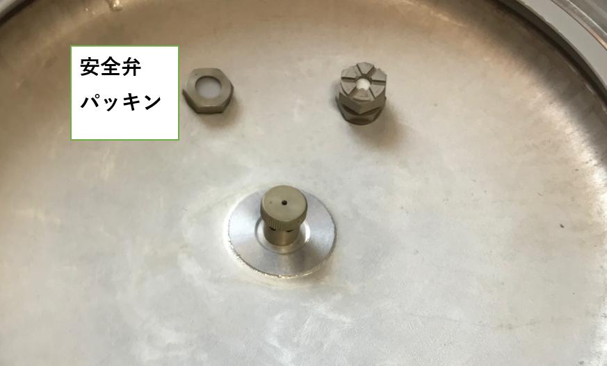圧力鍋内側安全パッキン