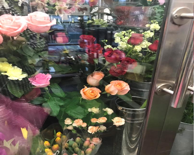 花屋花用冷蔵庫