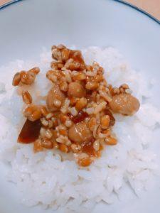 醤油麹と白米