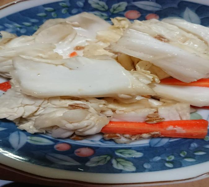醤油麹白菜人参漬物
