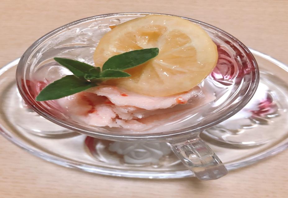 フルーツトマトシャーベット
