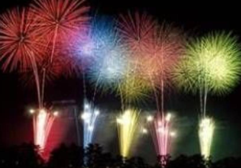 須坂みんなの花火大会画像