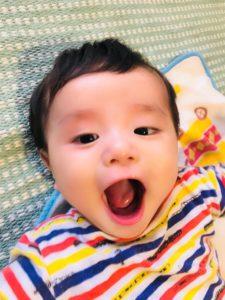 赤ちゃんパクパク