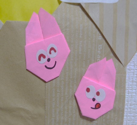 折り紙うさぎ画像