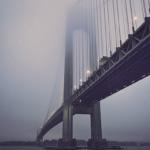 雨の高速道路