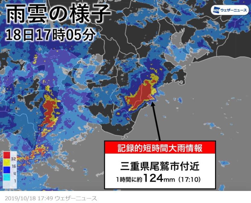 ウェザーニュース三重県