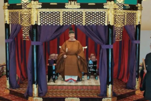 高御座の天皇
