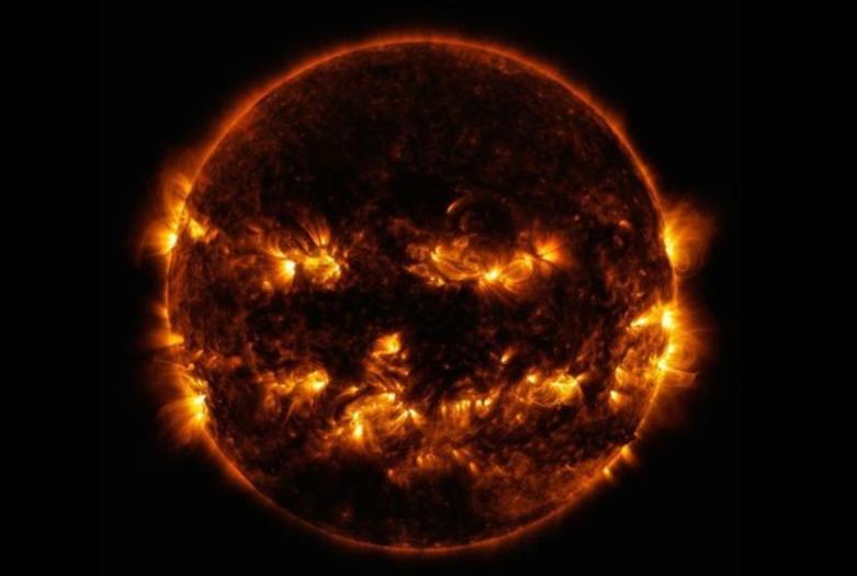 NASAジャック・オー・ランタンの太陽