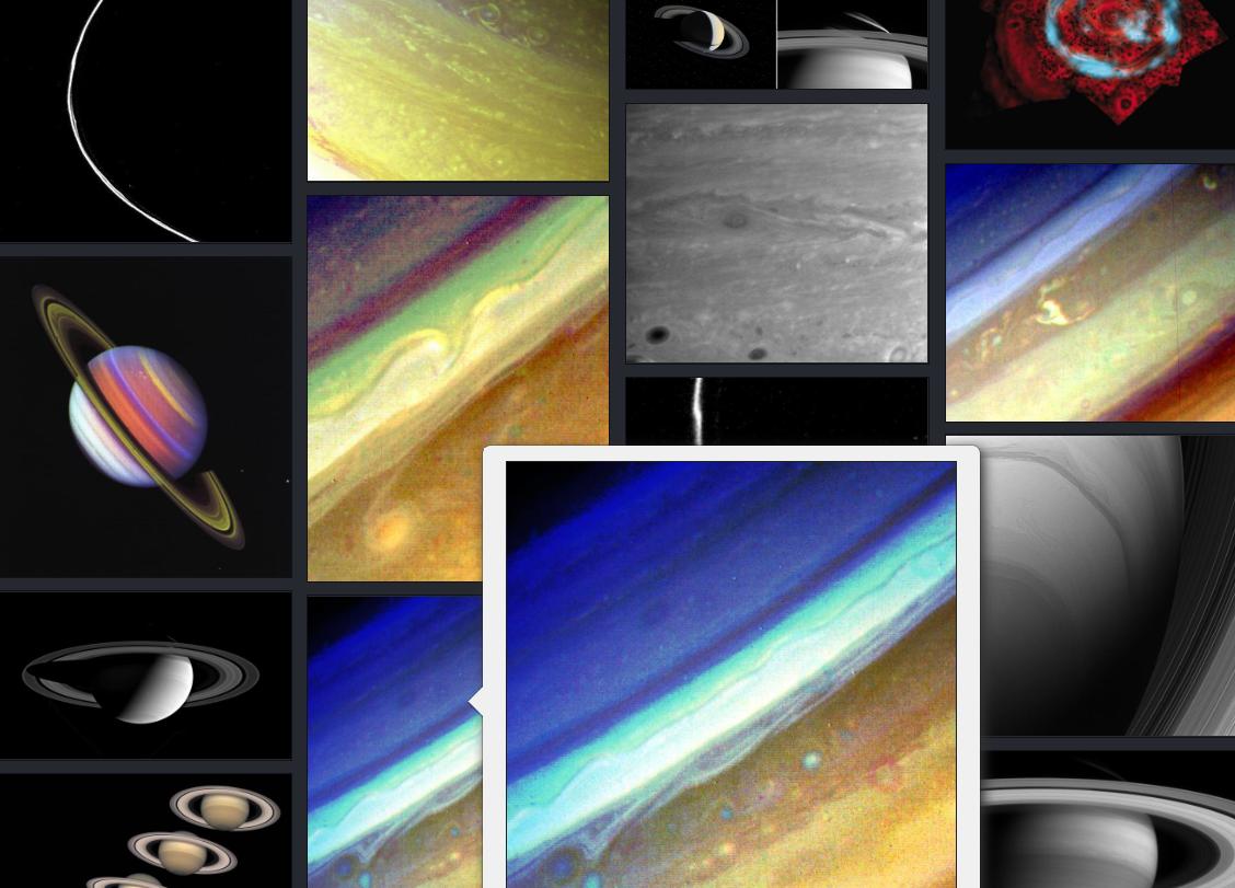 NASA土星