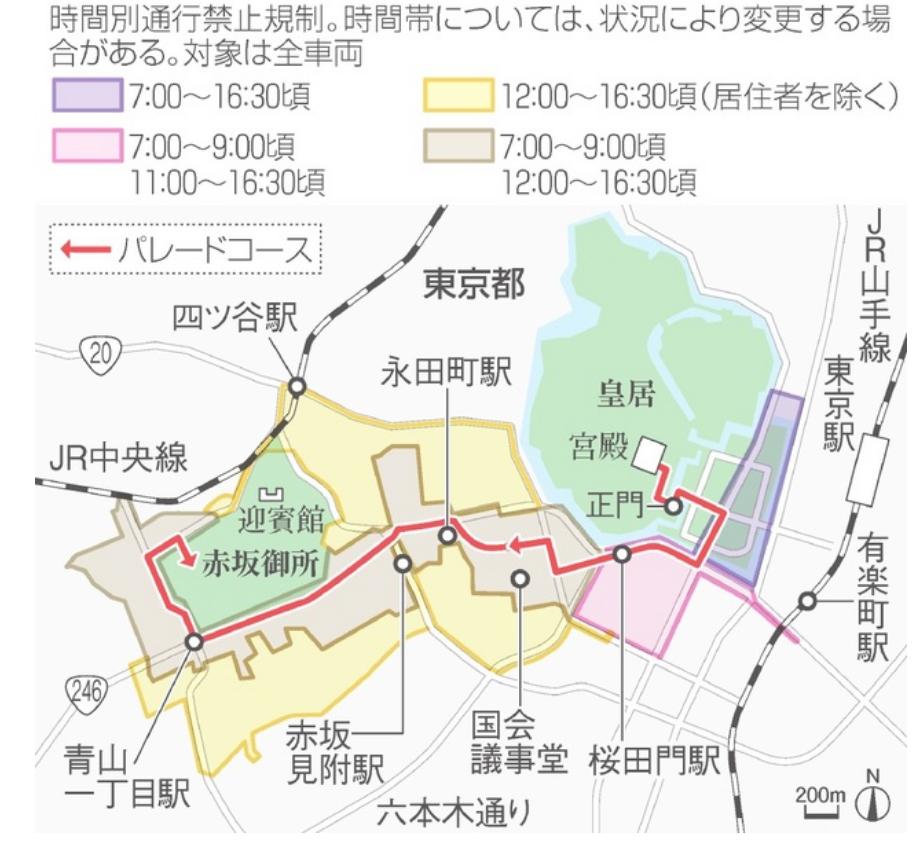 天皇即位パレード朝日新聞デジタル