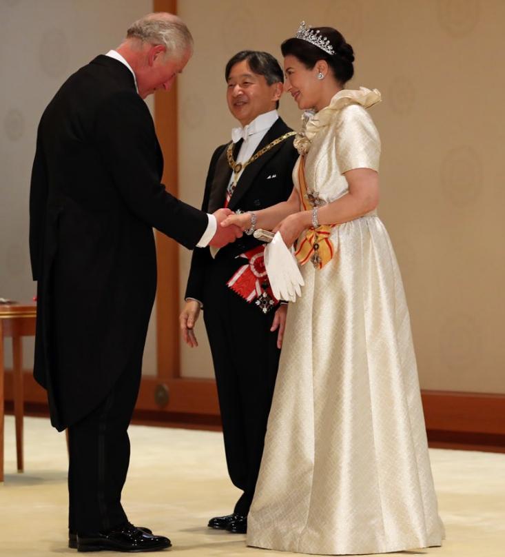 天皇皇后両陛下とチャールズ皇