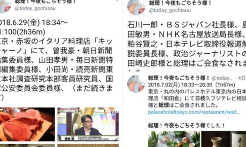 安倍首相とメディア