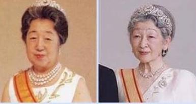 第2ティアラの歴代皇后