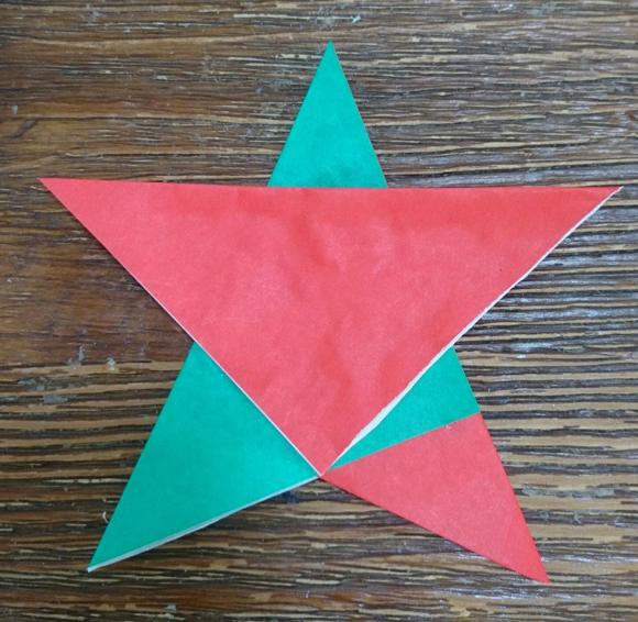 三角をあわせる