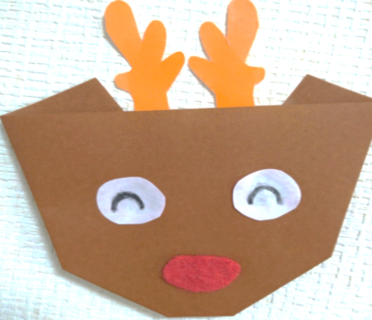 折り紙トナカイ