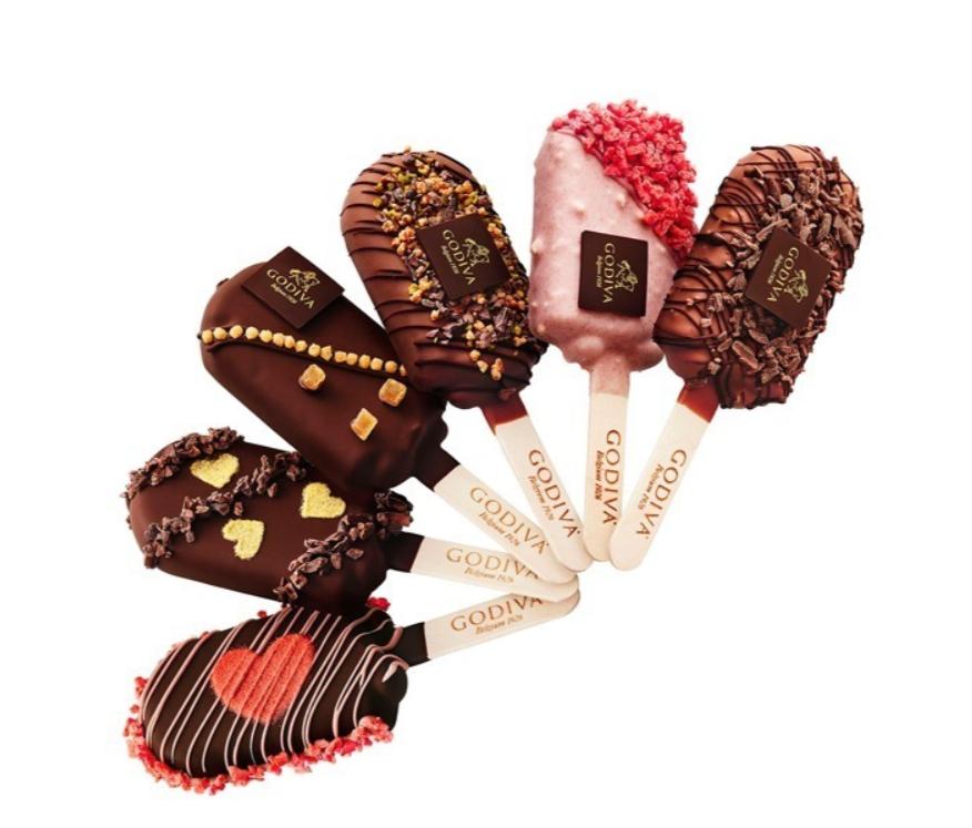 チョコレートアイスバー写真