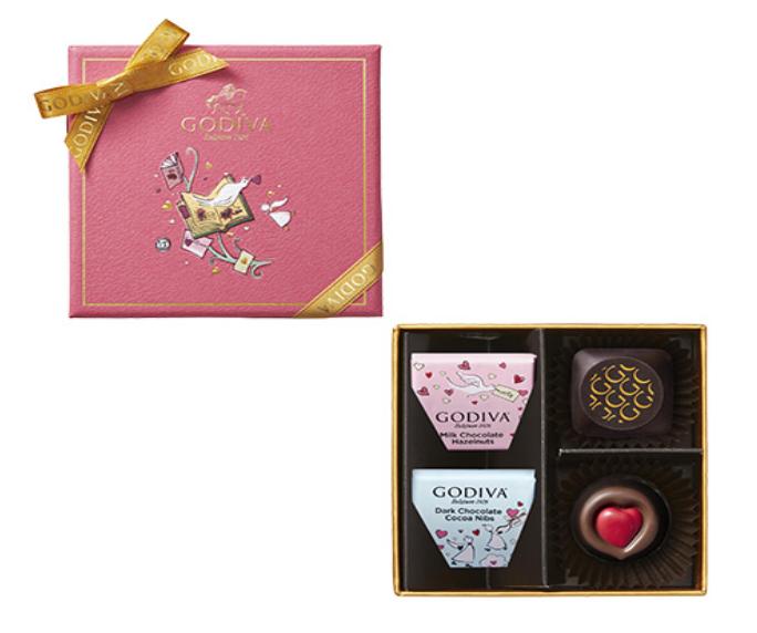 チョコレート・クロニクル・スウィート・アソートメント4粒