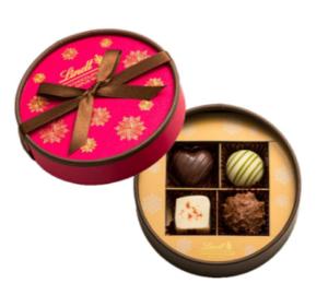 リンツ メートルショコラティエ セレクション 4種4個入り(バレンタイン)/トリュフ&プラリネ