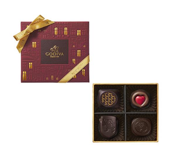4粒チョコレート・クロニクル・シック・アソートメント