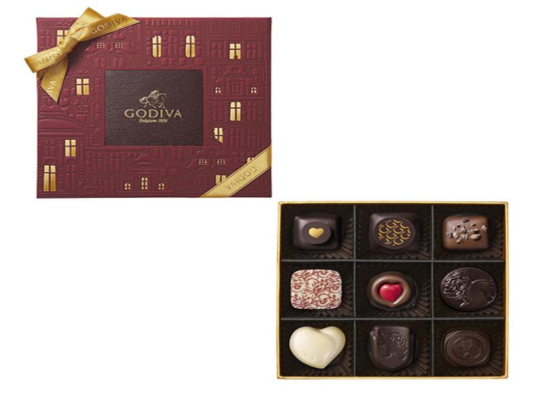 9粒チョコレート・クロニクル・シック・アソートメント