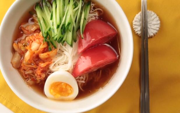 そうめん韓国冷麺