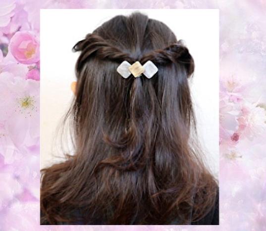 卒園式 入学式 小学生の女の子のセミロング髪型人気ランキング8選